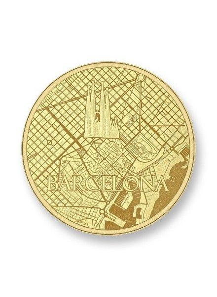 Mi Moneda Munt Barcelona Gold
