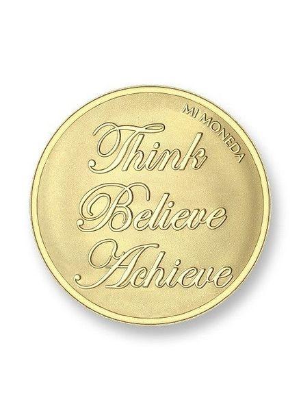 Mi Moneda Munt Blessed & Believe Gold