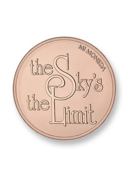 Mi Moneda Munt Sky Is The Limit Rose