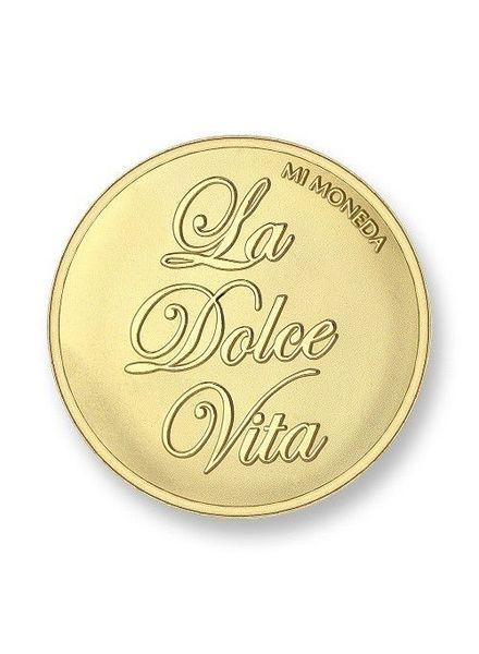 Mi Moneda Munt La Dolce Vita Gold