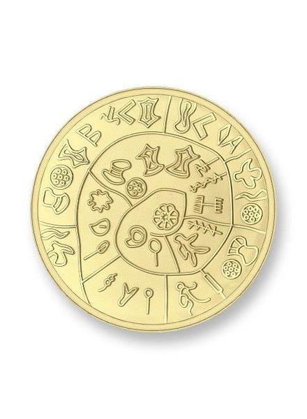 Mi Moneda Munt Phatos & Numbers Gold Small