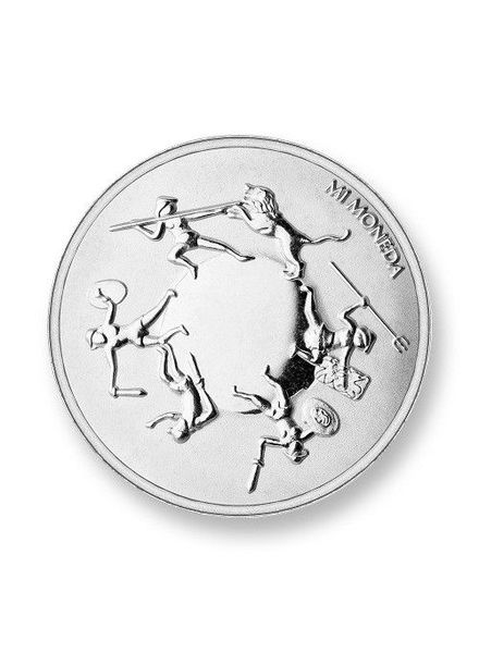 Mi Moneda Munt Eternity & Shield Silver