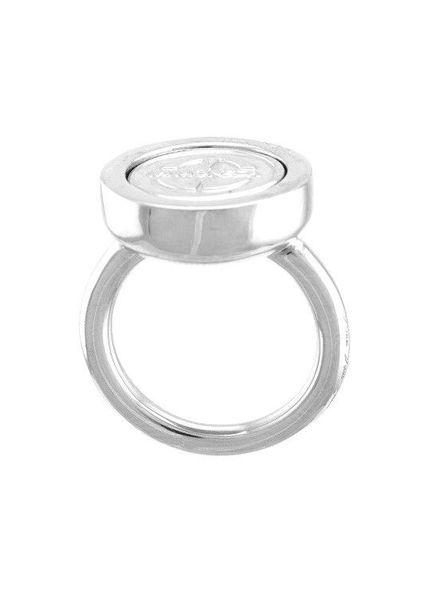 Mi Moneda Ring Carpe Diem Silver