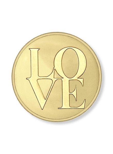 Mi Moneda Munt Love Gold XS