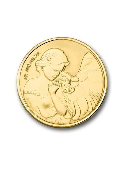 Mi Moneda Munt Moneda Angel & Heart Gold