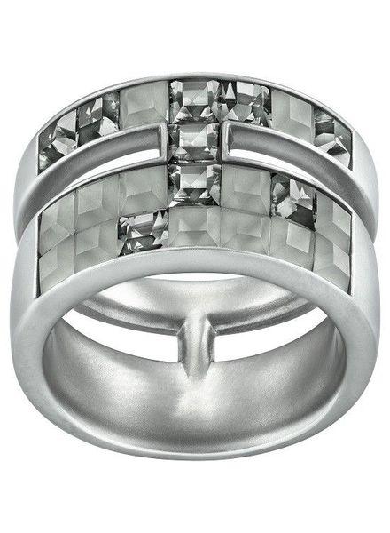 Swarovski Ring Frozen Crystals Grey Viktor & Rolf Collectie
