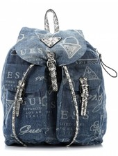 Tas Marrakech Backpack Blue Denim