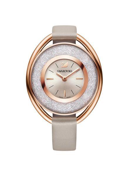 Swarovski Horloge Crystalline Oval - rosegoud 5158544