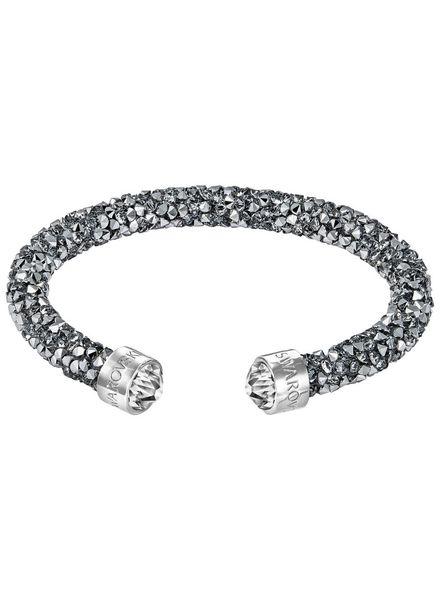 Swarovski 5255912 Crystaldust armband antraciet
