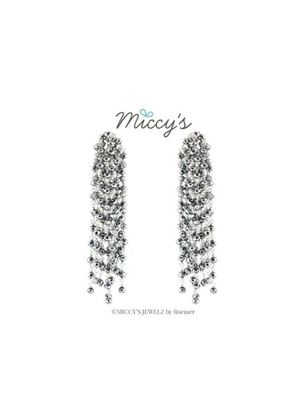 Miccy's Oorhanger Crystal Edessa Silver