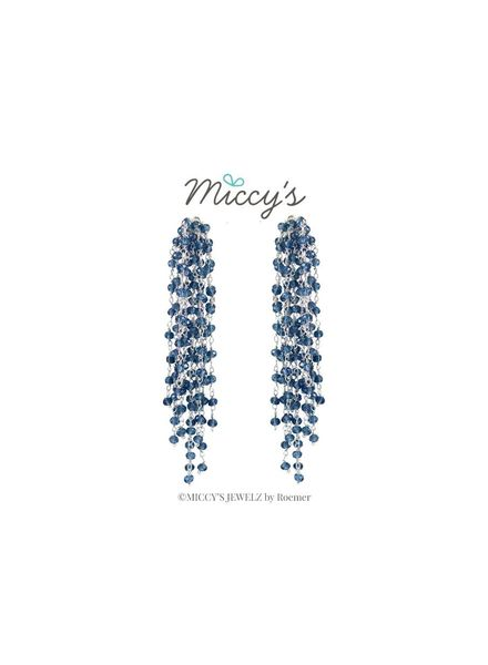 Miccy's Oorhanger Crystal, Edessa Silver Blue