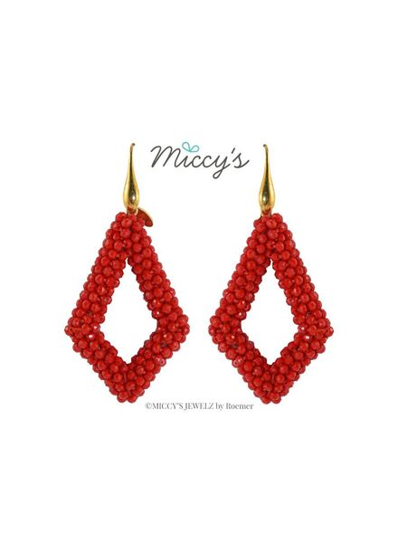 Miccy's Oorhanger Crystal, red ns drops