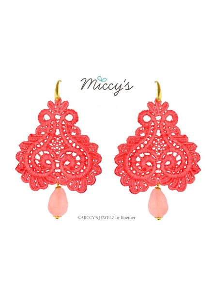 Miccy's Oorhanger Pizzo, coral