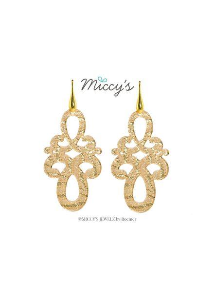 Miccy's Oorhanger Resin, golden knots
