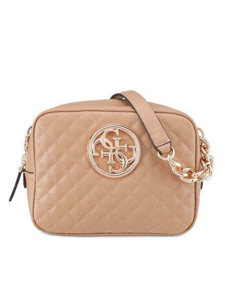 Guess tas G lux crossbody tan