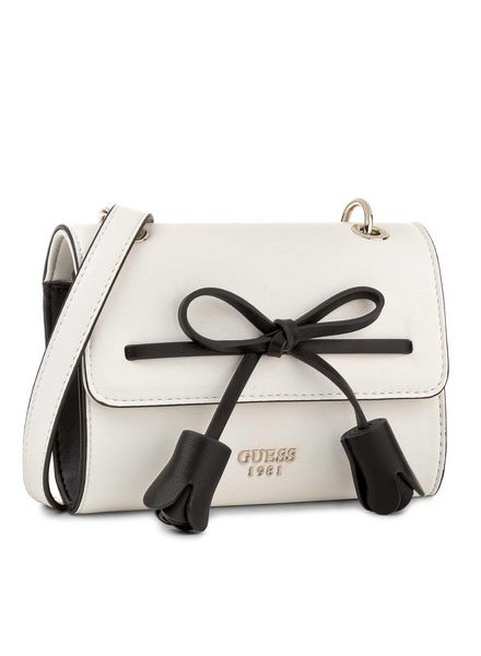 Guess crossbody flap Leila white