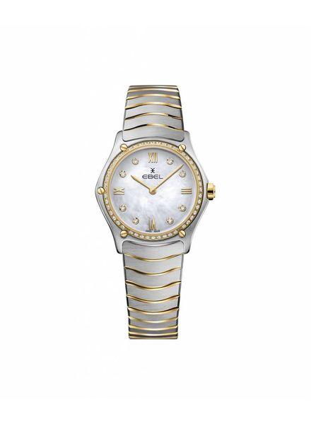 Ebel horloge classic wave dames 1216390