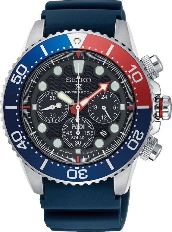 Seiko Seiko horloge Prospex Padi Solar - SSC663P1