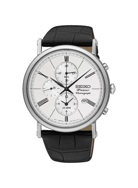 Seiko Heren horloge premier - chronograaf - SNAF77P1