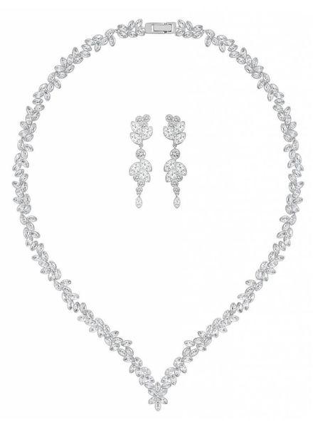 Swarovski Collier Diapason Set met oorhangers - 5142738