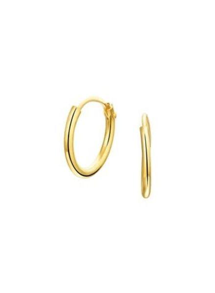 Tomylo oorringen goud 13 mm