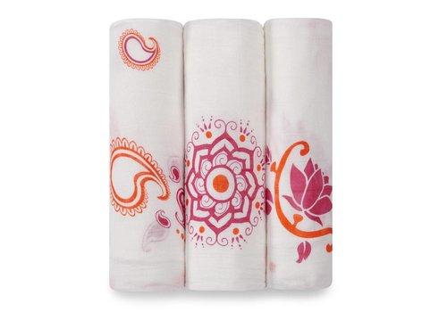 Aden & Anais Aden & Anais Tetradoeken Pyara Bamboo 3-Pack