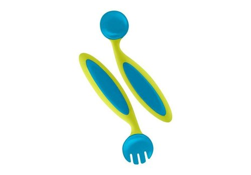 BOON Boon Spoon And Fork Benders Blue/Green