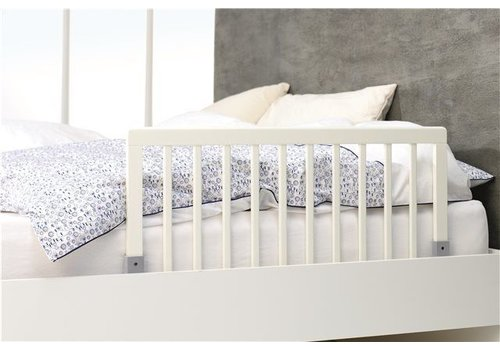 Babydan Babydan Bed Rail Wood White