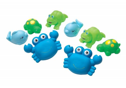 Playgro Playgro Bath Toys Squirties Boys