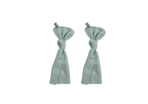 Baby's Only Baby's Only Swaddle 60 x 70 Mint 2-Pack