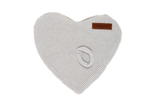 Baby's Only Baby's Only Pacifier Cloth Classic Silver Gray