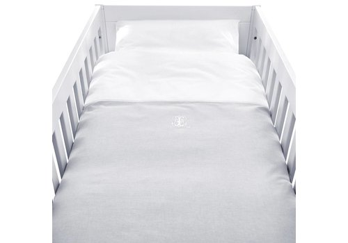 Theophile & Patachou Theophile & Patachou Donsovertrek Bed + Sloop Grijs - Wit