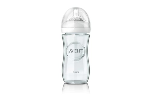 Avent Avent Natural Zuigfles Glas 240 ml