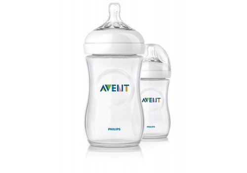 Avent Avent Natural Feeding Bottle 260 ml Duo