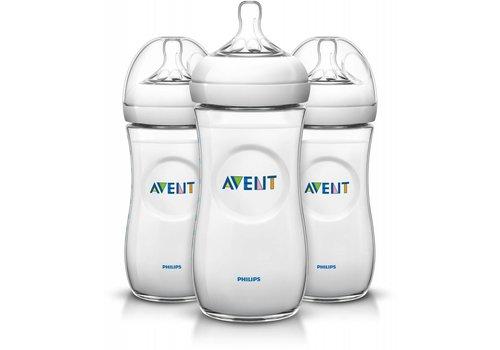 Avent Avent Natural Feeding Bottle 330 ml Trio