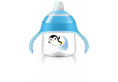 Avent Avent Leak Proof Drink Cup Pinguin 200 ml Blue