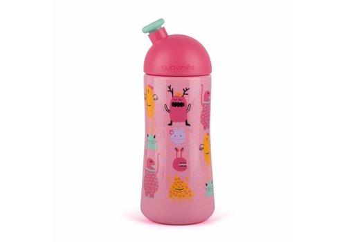 Suavinex Suavinex Drinkfles Sporty Booo! Roze