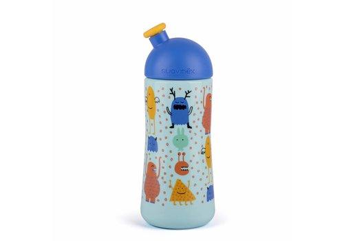 Suavinex Suavinex Drinkfles Sporty Booo! Blauw