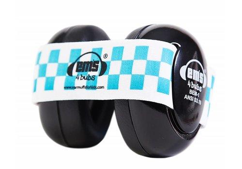 Em's 4 Em's 4 Hearing Protection Earmuffs Blue - White