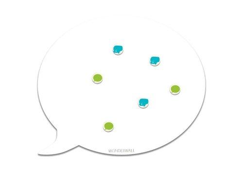 Wonderwall Wonderwall Magnet XL Speech Bubble White