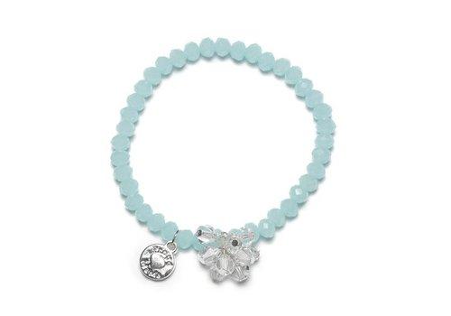 Proud Mama Proud Mama Armband Charm Beads Blauw