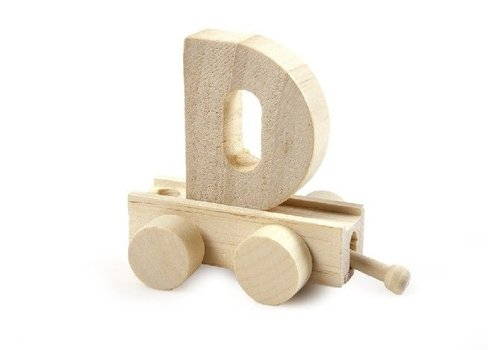 Bartok Bartok Train Letter D Natural