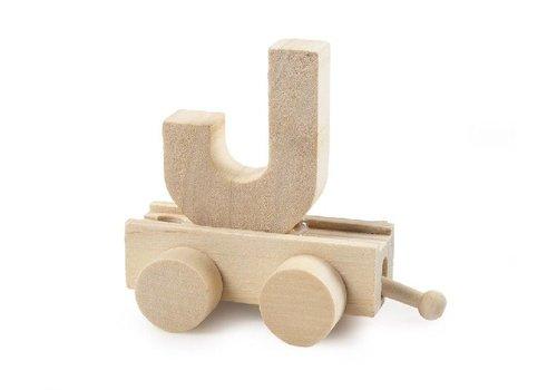 Bartok Bartok Train Letter J Natural