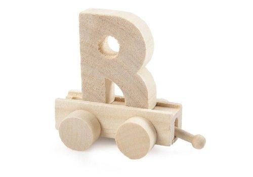 Bartok Bartok Train Letter R Natural