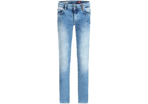 BOOF Boof Jeansbroek Slim Fit Stretch Denim Lichtblauw