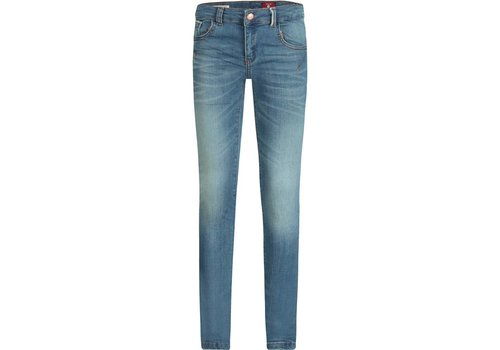 BOOF Boof Jeans Impulse Skinny Fit Power Stretch Middle Blauw