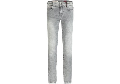 BOOF Boof Solar Jeans Slim Fit Stretch Denim Wash Grijs