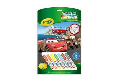 Crayola Crayola Nummer Kleurplaten Cars