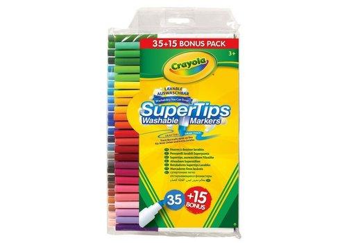 Crayola Crayola Felt Tip Pencils 35 + 15 With Super Tips