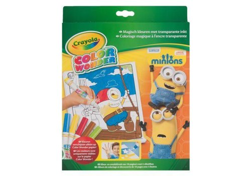 Crayola Crayola Color Wonder Box Set Minions